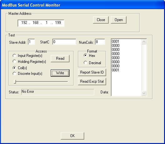 MACH3 Modbus TCP